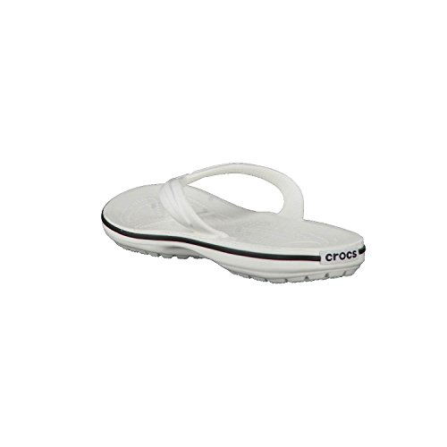 Top Sandal White Low Crocs Rubber Flip Crocband tqn4B4wZg