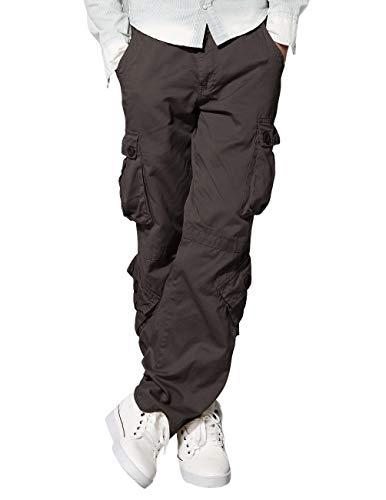 Match Men's Wild Cargo Pants(Dark Khaki,32)