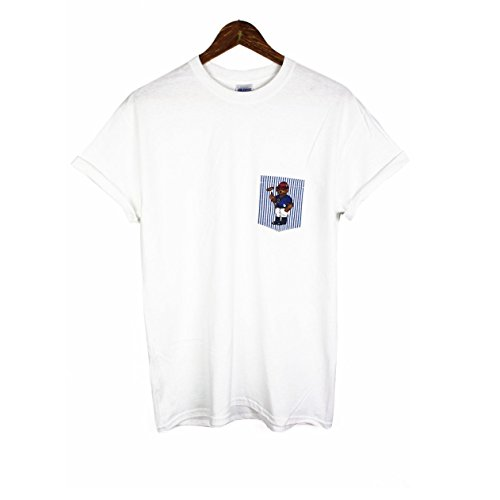 shirt T Blanc Pocket Agora Polo Ours x7Hq1RwpZ