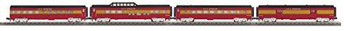 O-27 60' Streamlined Passenger Set, Circus (4) MTH3067382
