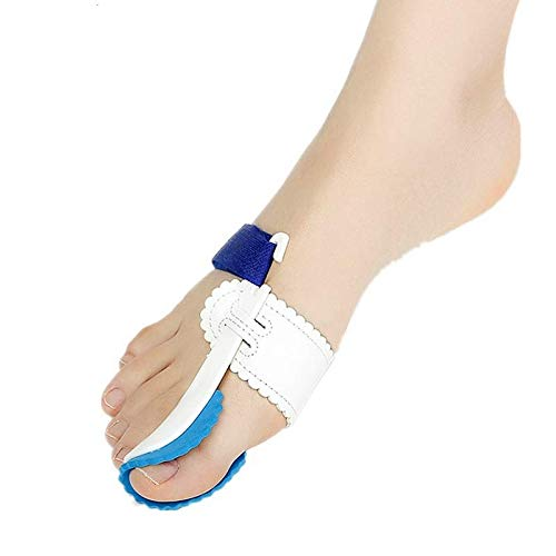 Bunion Pro: Hallux Valgus Corrector Splint (Night Use) Bunion Protector and Bunion Pain Relief - Orthopedic Big Toe Separator Brace Sock - Feet Pads Sleeve Cushion Bunion Straightener Spacer Spreader
