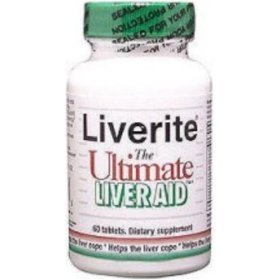 Liverite The Ultimate Liver Aid - 60 tabs, 6 Pack by LIVERITE by Liverite