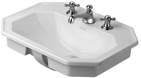 Vasche Da Bagno Incasso Duravit : Duravit lavandino da incasso cm bianco amazon fai da te