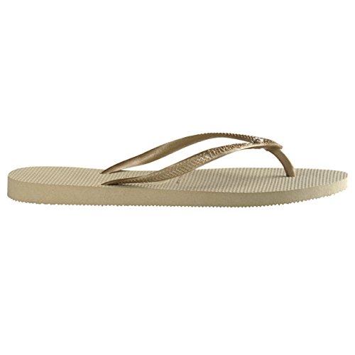 9c9c436edc0a new Womens Havaianas Slim Crystal Glamour Sw Thongs Rubber Diamond Flip Flop  - Sand Gray