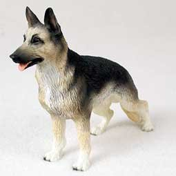 German Shepherd Figurine - Gift for Dog Lovers