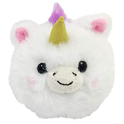 Floofies FL-93203-P Collectible Plush, Assorted: Toys & Games