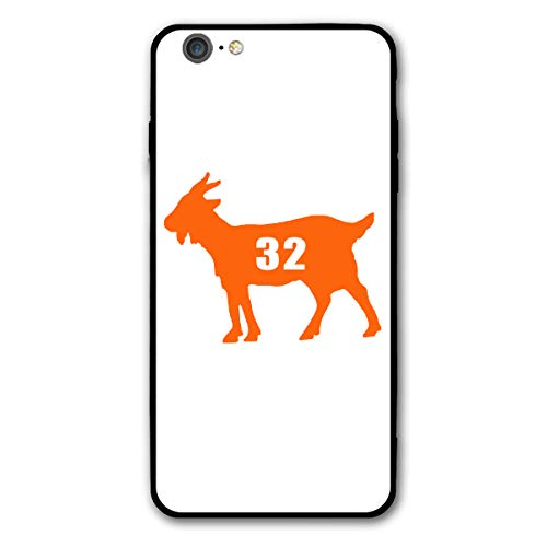 Slim Fit iPhone 6/6s Plus Silicone Case, Cleveland Brown Goat Shock-Absorption Anti-Scratch Bumper Cover Dustproof Full Body Drop Protection Cover for Apple iPhone 6/6s - Football Nfl Rookie Brown