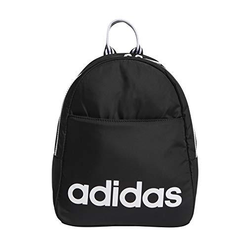 (adidas Core Mini Backpack, Black/White, One Size )