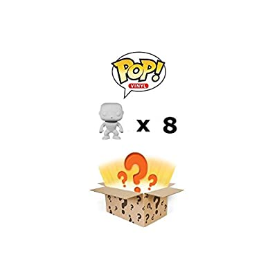 Funko Pop Mystery Box: Damaged/Overstock Vinyl Figures 8-Pack: Toys & Games