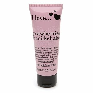 Amazon.com : I Love Strawberries & Milkshake Super Soft Hand ...