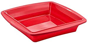 Tefal Profle x 23 cm Square Cake Mould, Silicon Collapsable / Retractble - J4090554