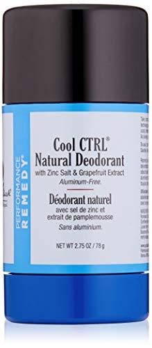 JACK BLACK - Cool CTRL Natural Deodorant - Aluminum-Free, Time-Released Odor Blockers, Anti-Bacterial and Anti-Fungal, Natural Ingredients, 2.75 oz.