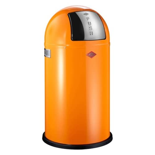 Wesco Pushboy 50 Litre Bin - Orange