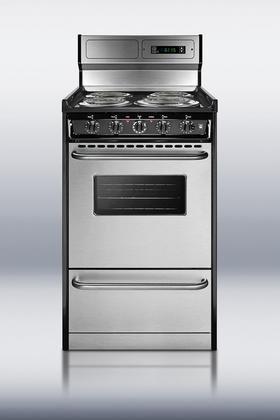 Summit TEM130BKWY Kitchen Cooking Range, Stainless Steel