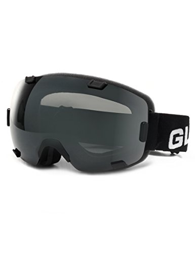 GLX Ski Goggles for Men Women Youth, Snowboarding Snowmobile Motorcycle Goggles 100% UV Protective Interchangeable Lens Anti-Fog/Scratch Outdoor  Safety  Eyewear by GLX