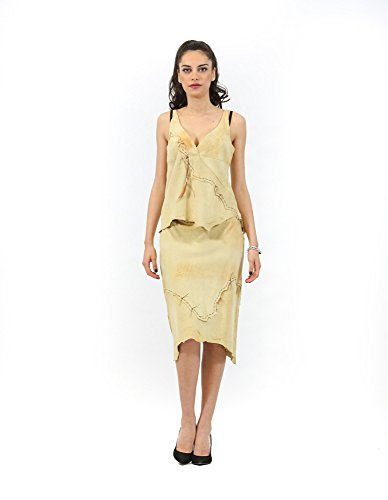 and nuanced Top Inmoda Skirt Women's Beige Complete E8wxq7CX