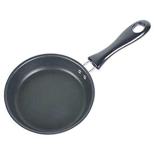 Enshey Specialty Nonstick Round Egg Pan Fry Pan Cookware One Egg Pancake Maker Egg Frying Pan PFOA Free,4.72 Inch Skillet
