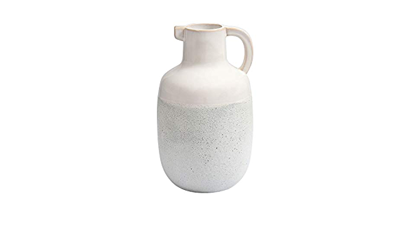 Amazon Com Elk Home Concord Earthenware Pitcher One Size Ivory Glaze Chalk White Home Kitchen