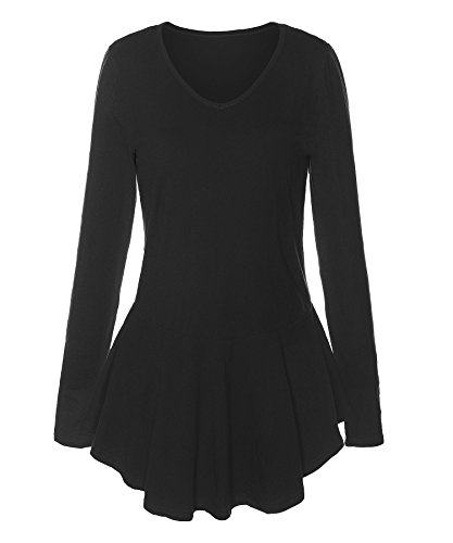 Long Sleeve V-Neck Blouse w/ Peplum Edge by hitseparatingfiletransfer.tk at hitseparatingfiletransfer.tk Read hitseparatingfiletransfer.tk Long Sleeve V-Neck Blouse w/ Peplum Edge product reviews, or select the .
