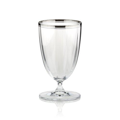 Mikasa Stephanie Platinum Iced Tea Glass