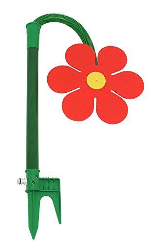 FloraSun-Funflower-die-lustige-Gartendusche-Wasserspiele-zur-Gartenbewsserung-rot