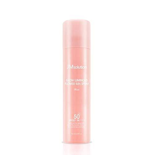 JM solution - Glow Luminous Flower Sun Spray - Rose - SPF50+/PA++++