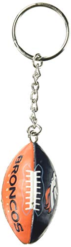 Denver Broncos Team Image Ball Keychain
