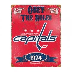 Washington Capitals NHL Vintage Metal - Sign Pub Nhl