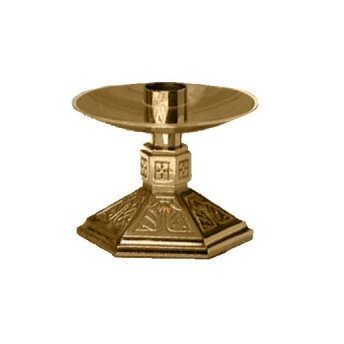 Altar Candlestick by Religious Supply