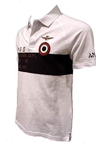 Hombres Jersey Sudadera Po1323j Camiseta Chaqueta 73062 Pantalones Blanco Aeronautica Polo Militare EwqEYa