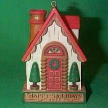 (House from the Yesteryears Collection 1977 hallmark)