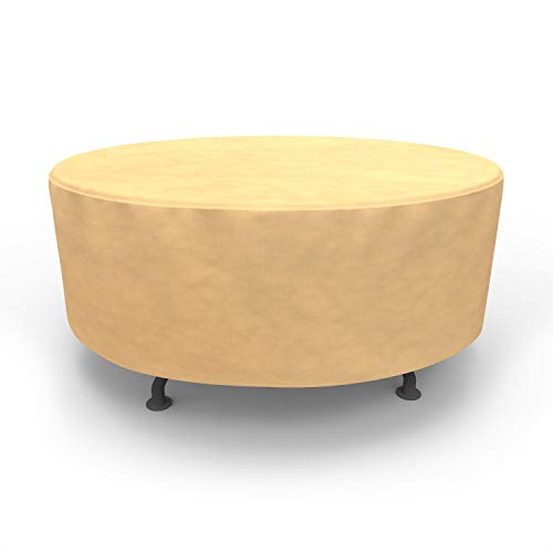 EmpirePatio Round Table Covers 72 in Diameter - Nutmeg