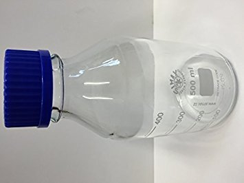 500ML BOROSILICATE GLASS LABORATORY REAGENT BOTTLE SIMAX/VWR (DURAN PYREX EQUIVALENT) KAVALIER