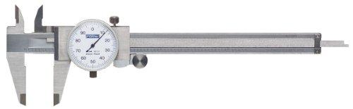 - Fowler 52-008-007 Stainless Steel One-Rev Dial Caliper, 1.6