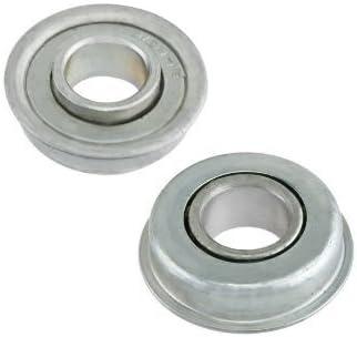 Fevas 8mm KP08 kirksite Bearing Insert Shaft Support Spherical Roller zinc Alloy Mount Pillow Block Outer Diameter: P5 Grade