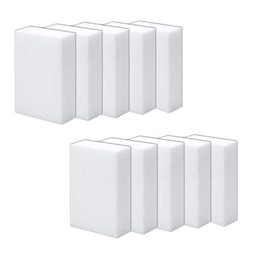 Finov 10 Pack Magic Sponge Eraser Multi-Purpose Cleaning Pads ()
