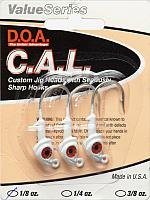 DOA 1/8oz White C.A.L Jig Head