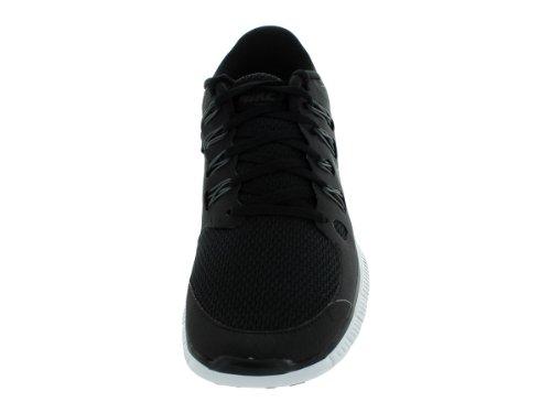 Nike Heren Gratis 5.0+ Ademen Loopt Zwart / Metallic Donkergrijs / Wit Synthetische Shoe - 12,5 D (m) Ons