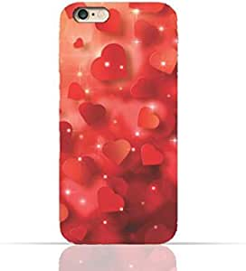 Apple iPhone 6/6s TPU Silicone Case with Seamless Heart Pattern Design