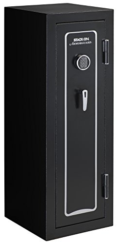 Stack-On A-40-MB-E-S Armorguard 40-Gun Safe with Electronic Lock, Matte Black