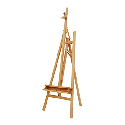 Easels Drawing Board Wood Folding Lift Forward Tilt Gouache Oil Painting Sketch Sketch Bracket Portable HUYP