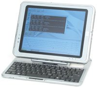 HP Compaq Tablet PC TC1100 - Pentium M 1 GHz ULV - RAM 512 MB - HDD 40 GB - GF4 420 Go - WLAN : 802.11b - Win XP Tablet PC - 10.4
