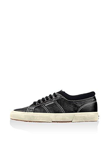 Superga - Zapatillas para hombre Black-F Off white