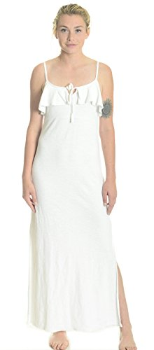 Juicy Couture Black Label Women's Terry Maxi Dress in White, X-Small ()