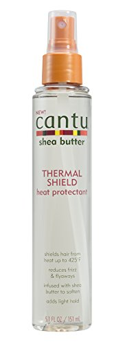 Cantu Shea Butter Products - Cantu Shea Butter Thermal Shield Heat Protectant, 5.1 Fluid Ounce