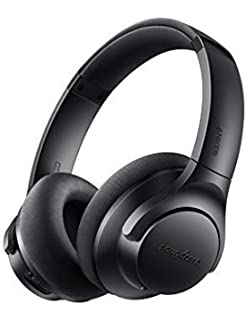 e37fdf9f2ee Soundcore Life 2 Active Noise Cancelling Over-Ear Wireless Headphones,  Hi-Res Audio