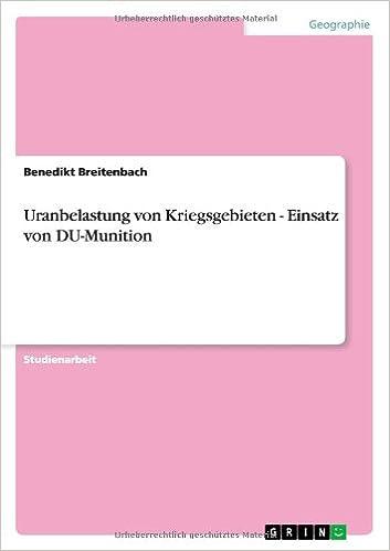 Book Uranbelastung von Kriegsgebieten - Einsatz von DU-Munition