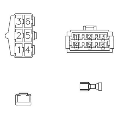 Amazon.com: Radio Wiring Harness John Deere Farmall Case IH ... on farmall super a hydraulic system diagram, automotive push button ignition switch diagram, 720 john deere electrical diagram, 1975 john deere 317 mower belt routing diagram,