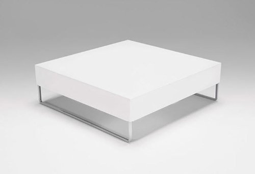 Park Square Coffee Table - White
