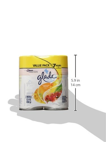Glade Automatic Spray Air Freshener, 12.4 Ounce (Hawaiian Breeze, Pack - 3,(6 Count)) by Glade (Image #5)
